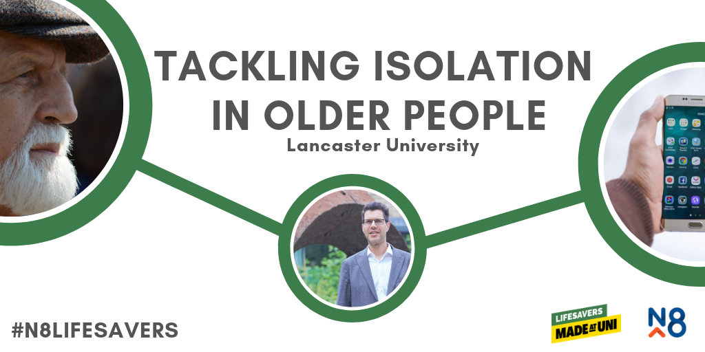n8 lifesavers lancaster university isolation older people