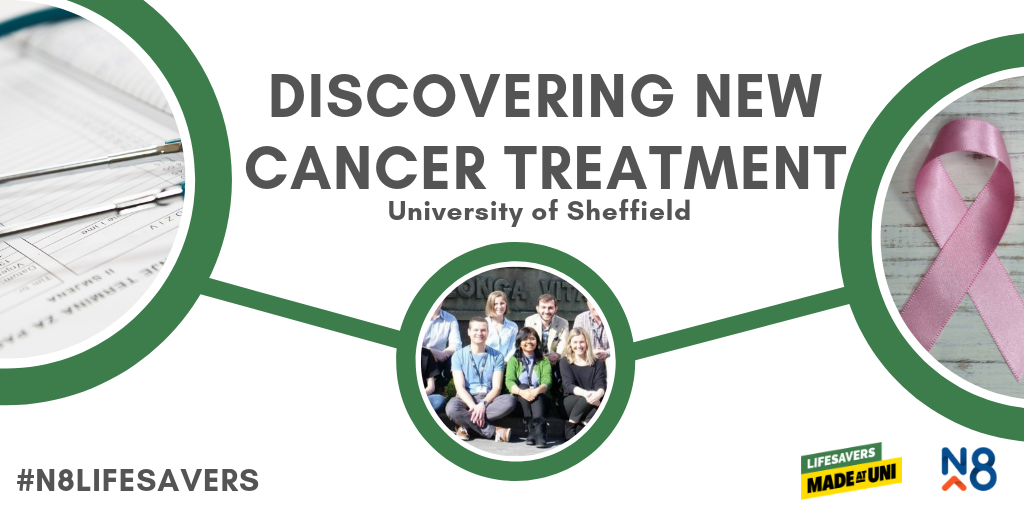 n8 lifesavers sheffield uni cancer treatment