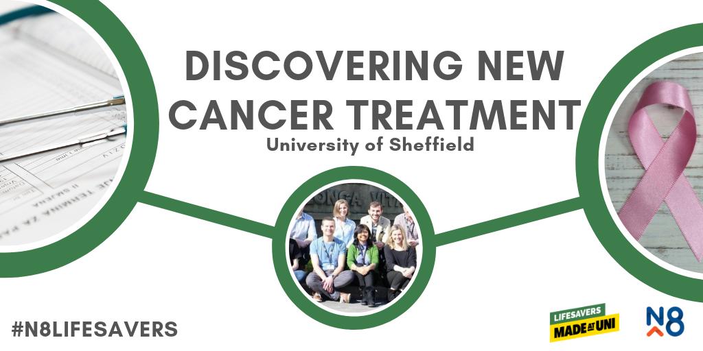 n8 lifesavers sheffield uni cancer treatment