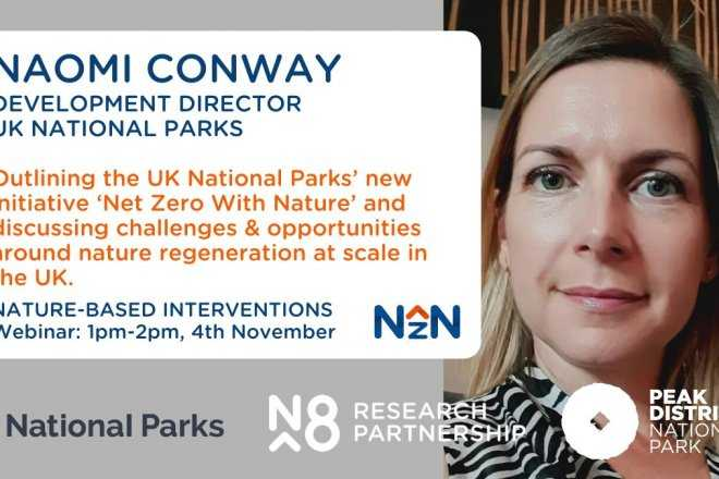 N8 and UK National Parks webinar - Naomi Conway