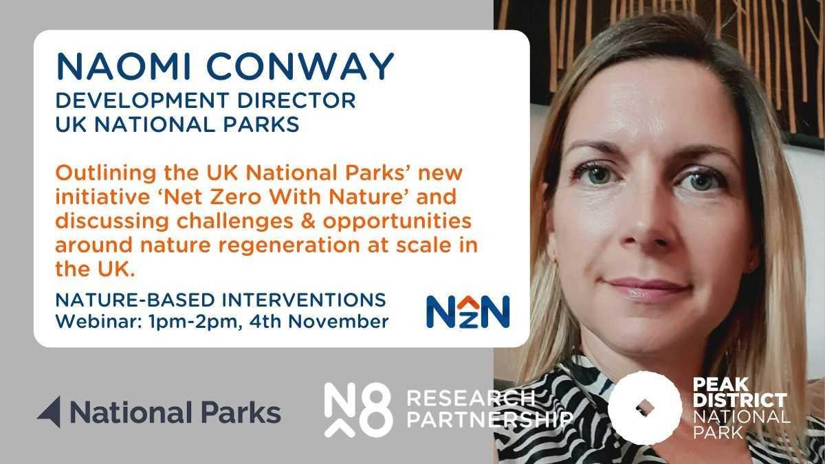 N8 and UK National Parks webinar - Naomi Conway