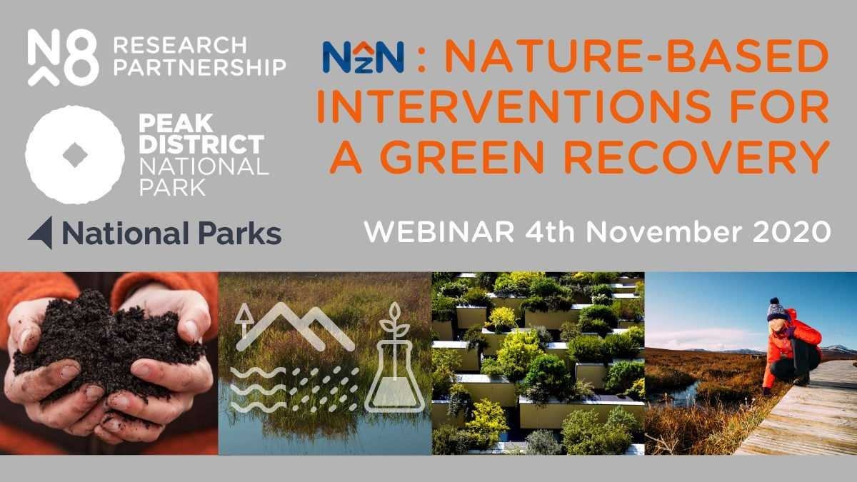 N8 NZN and Peak District National Parks webinar 4th November 2020