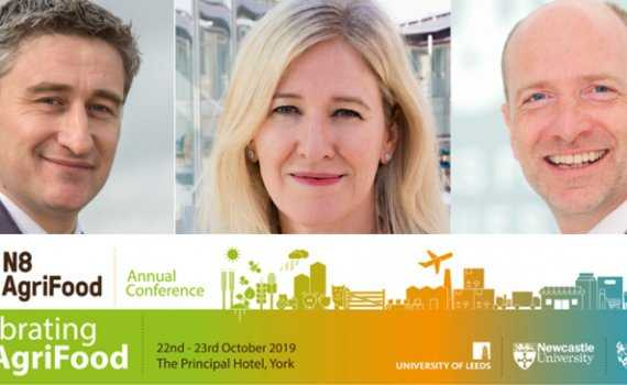 N8 AgriFood conference 2019 keynote speakers