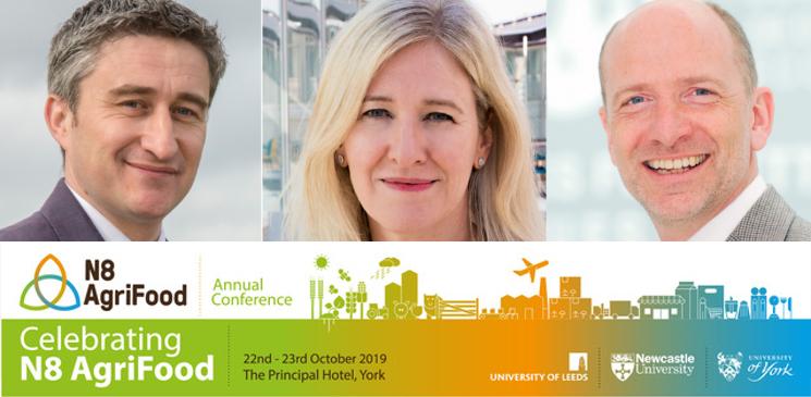 N8 AgriFood conference 2019 keynote speakers
