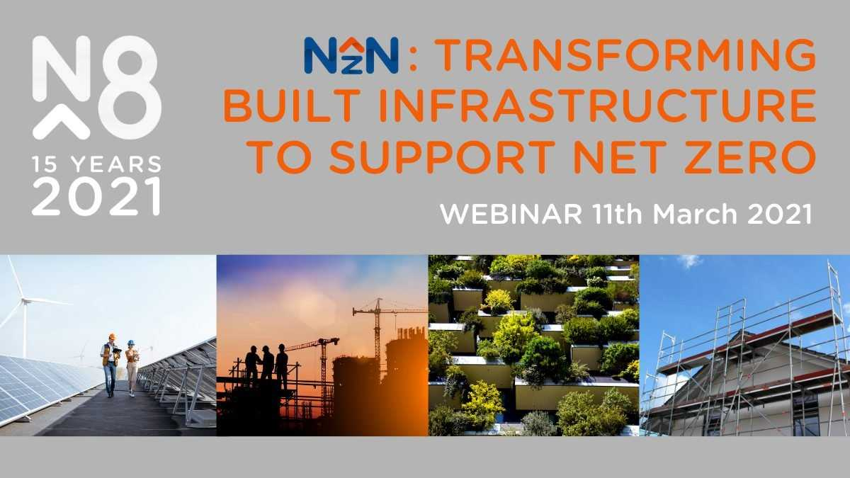 N8 net zero north construction webinar - website header
