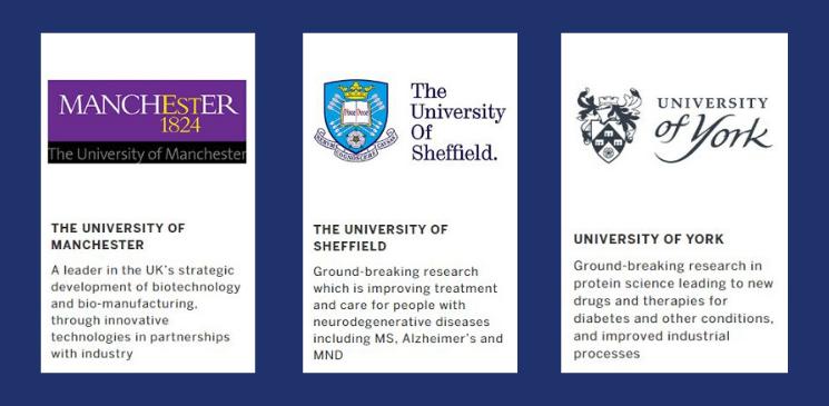 N8 universities Queen's Anniversary Prizes